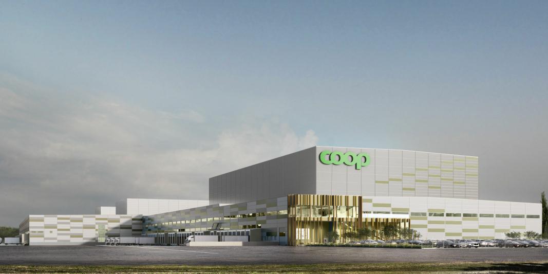 Coops nye sentrallager i Eskilstuna skal være i full drift fra 2024.