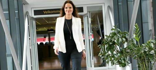 Med Maria Korban i ny sjefsrolle