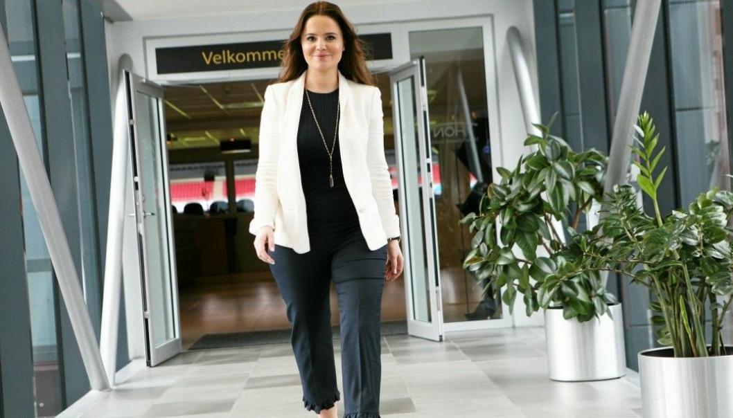 Mye tyder på at Maria Korban er på vei inn i en ny sjefsrolle i PostNord. Foto: Per Dagfinn Wolden