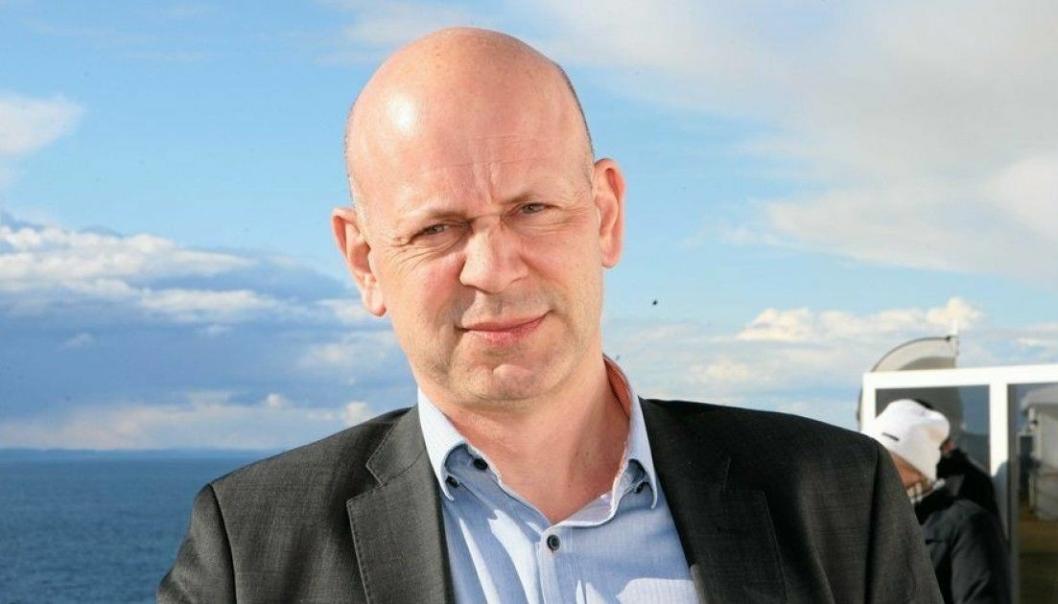 Direktøren for forretningsutvikling og logistikk i Rambøll, John Kenneth Selven, har vært en av primusene bak den nye Nord-Norgelinjen. Foto: Per Dagfinn Wolden