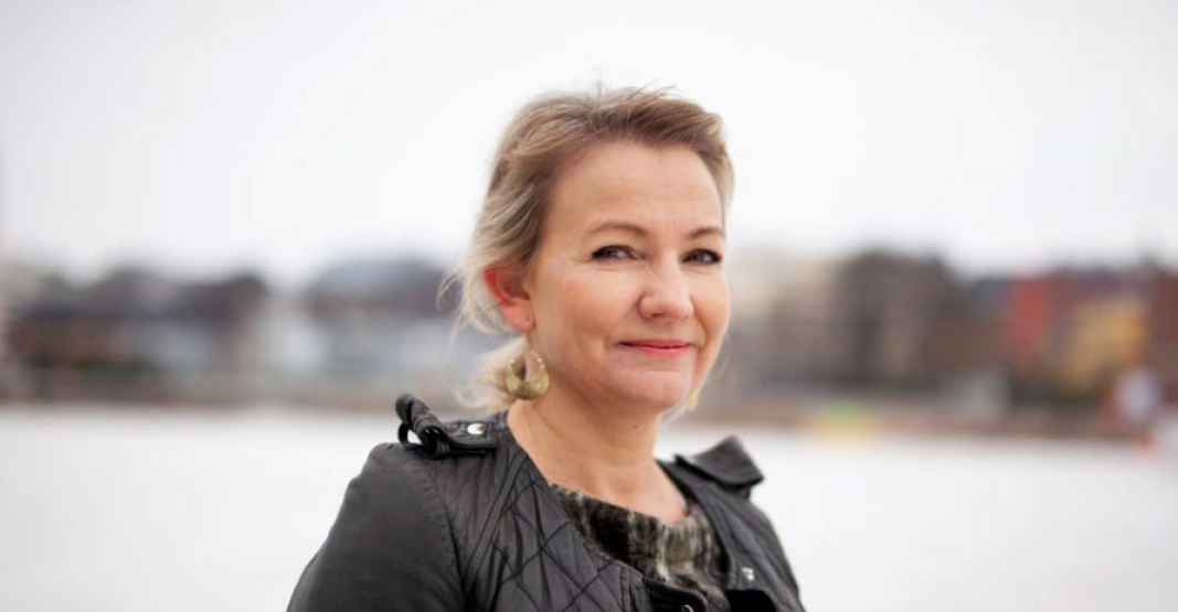Forhandlingsleder for Yrkestrafikkforbundet Linda Jæger ble enig med NLF og NHO. Foto: Kåre Sponberg