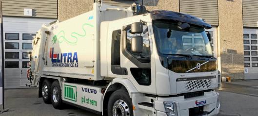 Volvo leverte søppELbil