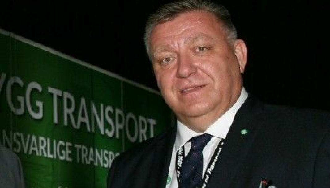 Geir A. Mo, adm. direktør i Norges Lastebileier-Forbund (NLF): - For oss er det transport som gjelder, og at våre medlemmer leverer de beste transportløsningene, noe som i de aller, aller fleste tilfeller involverer en lastebil. Foto: Per Dagfinn Wolden