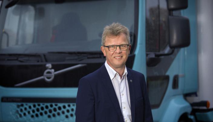 Roger Alm, President Volvo Trucks.
