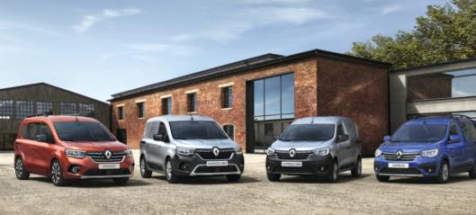 Nye varebiler fra Renault
