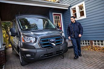 Helelektrisk Ford Transit