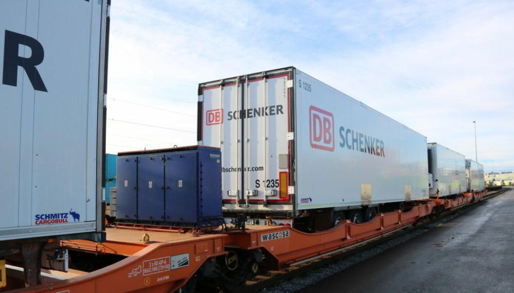 Schenker AS gjør termotransport på bane mer miljøvennlig med ny grønn løsning på skinner.