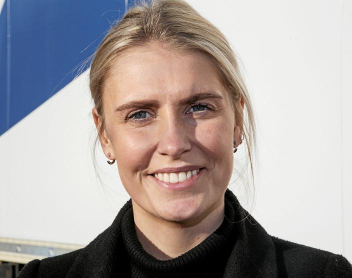 LEDER SATSINGEN: Salgs- og markedssjef Silje Steffensen trives svært godt med privat eier etter at Posten-eide Bring Frigo ble kjøpt av Nor-log.