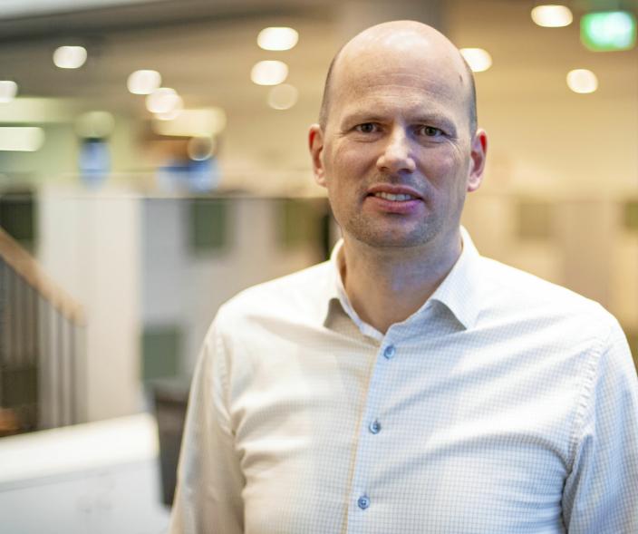 FELLES, MEN FORSKJELLIG: De lokale merkenavnene Suldal Transport og Miniekspress skal beholdes, men ligge under Nor-log-paraplyen, forteller konsernsjef i Nor-log Gruppen, Lars Arne Brøttem.