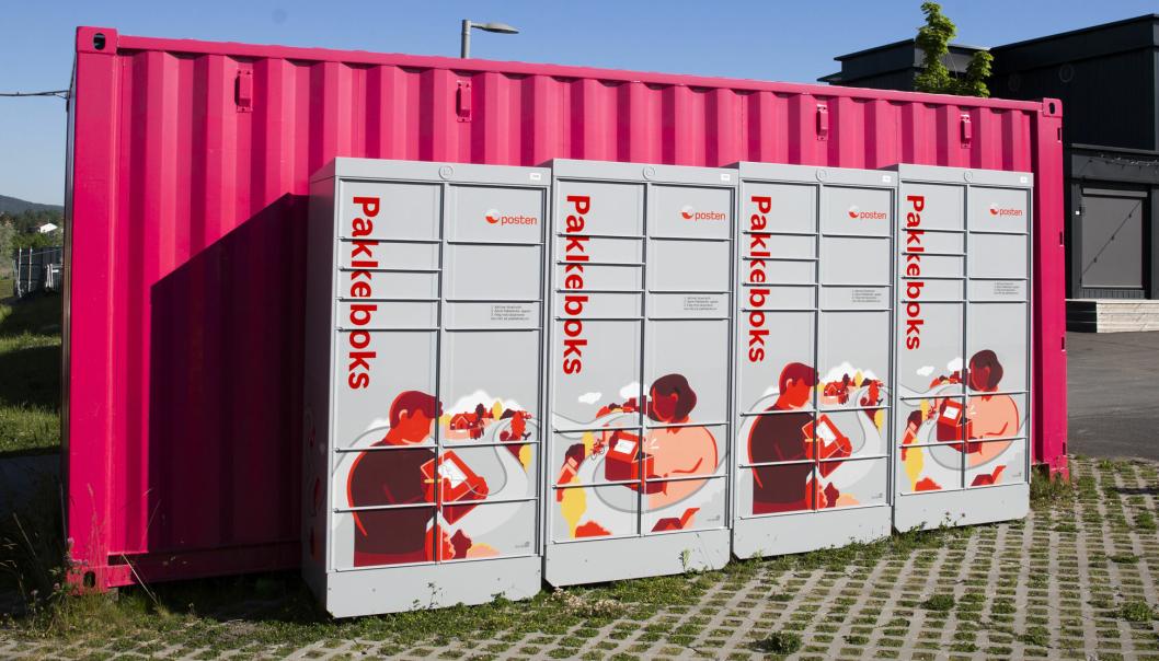 Innen Black Friday vil Posten ha utplassert pakkebokser 80 ulike steder rundt om i landet.
