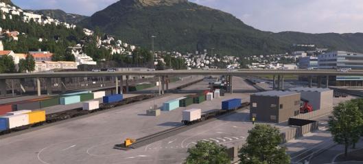 Skal kutte 400 lastebiler med grønn terminal