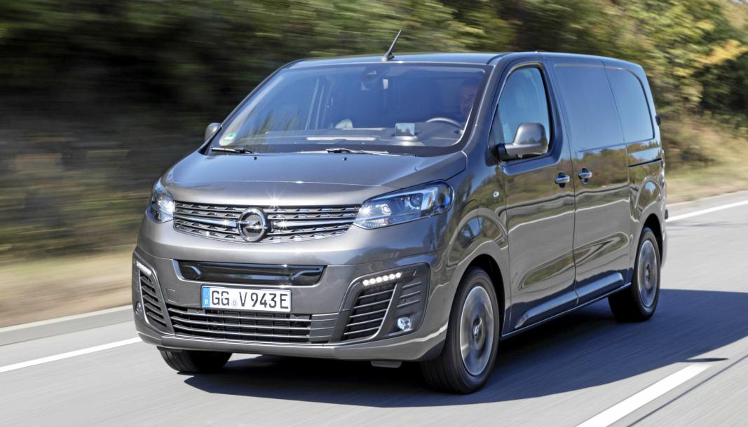 Opel Vivaro-e mister over 30.000 i Enova-støtte i ny ordning.