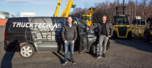 Trucktech blir norsk Crown-forhandler