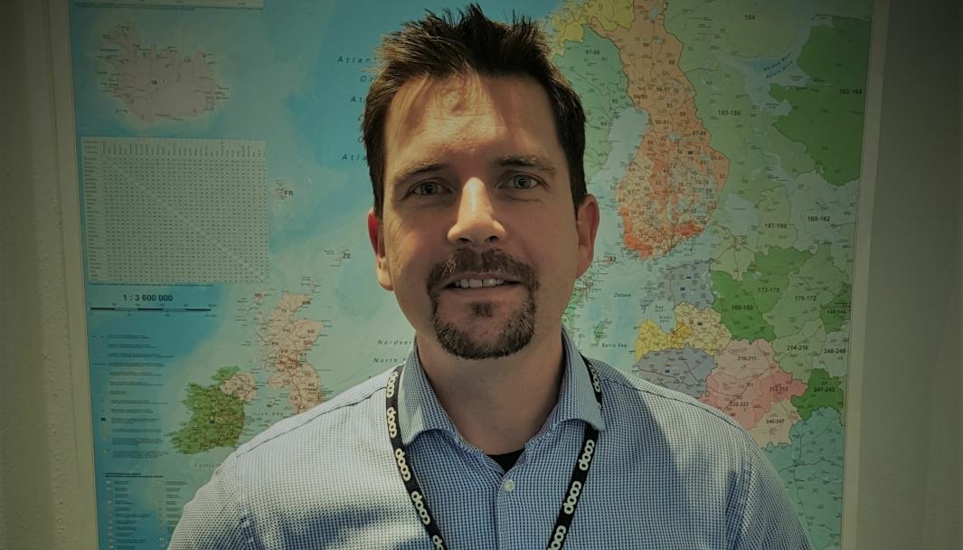 Coops transportsjef Robert Radford vil øke lastene med Europa-import opp Norskekysten.