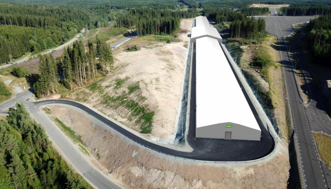 Like utenfor Borås har AstaZero et stort testområde, som i februar også skal ha en 700 meter lang innendørs testbane.