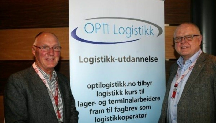 Vi møtte Tom Skipping (t.v.) og Birger Solvang da de på Kielbåten i 2013 lanserte sitt Skype-tilbud. Foto: Per Dagfinn Wolden