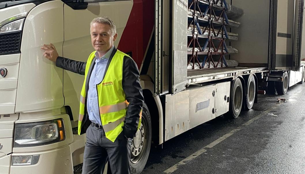 Konserndirektør Finn Martinsen i Toten Transport sier at GDL utfyller Toten Transport på en god måte.