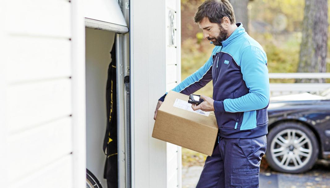 PostNord håndterte over én million pakker i Norge forrige uke.