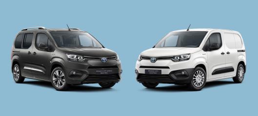 Ny elektrisk varebil fra Toyota
