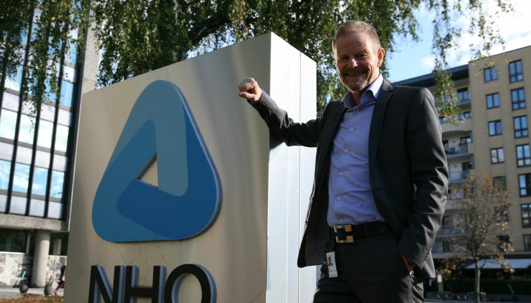 Adm. direktør i NHO Logistikk og Transport, Are Kjensli, mener Innlandet fylkeskommune gjør vei i vellinga når det åpnes for modulvogntog på veinettet. Foto: Per Dagfinn Wolden