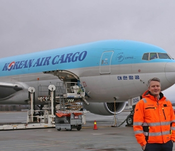 Fraktdirektør Martin Langaas i Avinor understreker at partnerskapet med Qatar Airways Cargo har vært en sann suksesshistorie for både Avinor og norsk sjømatnæring.