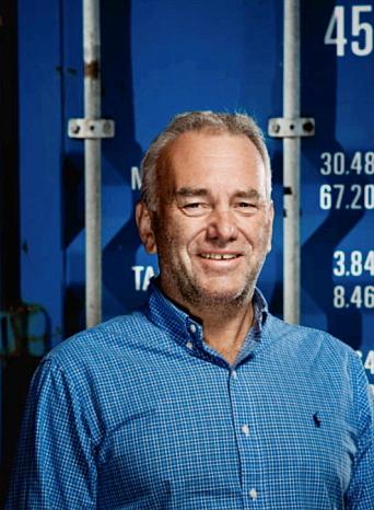 FRUSTRERT: Havnedirektør i Borg Havn, Tore Lundestad.