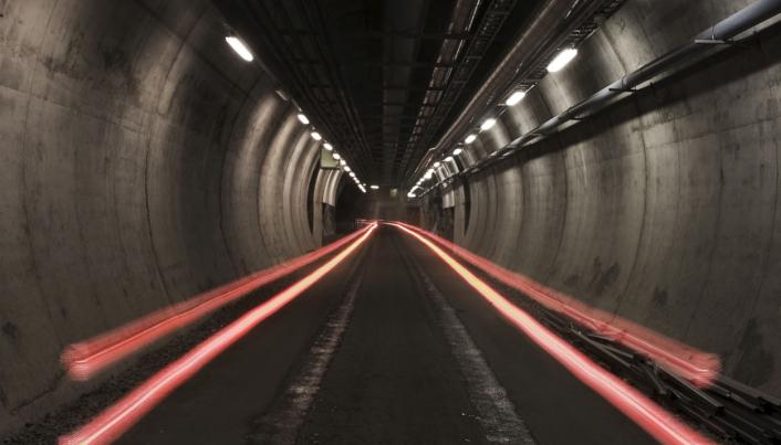 Tunnelinngangen til sikringsmagasinet i Mo i Rana.