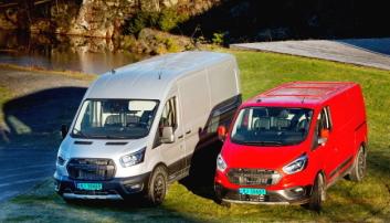 4. plass: To av Trail-modellene som sammen med Active var Fords kandidater under kåringen.
