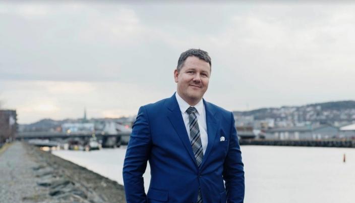 Havnedirektør i Trondheim Havn, Knut Thomas Kusslid.