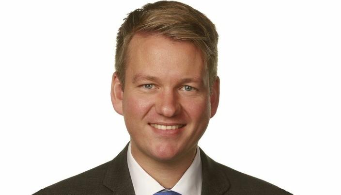 Statssekretær Anders Tyvand (KrF) i Kystseksjonen i Samferdselsdepartementet.