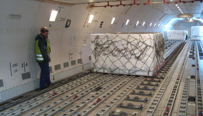 Rundt 12 prosent av sjømaten som produseres i Nord-Norge blir transportert med fly til markeder utenfor Europa.