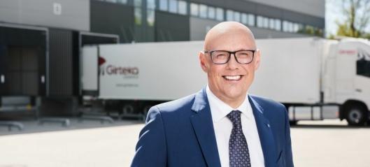 Girteka-Mortensen sier takk for seg