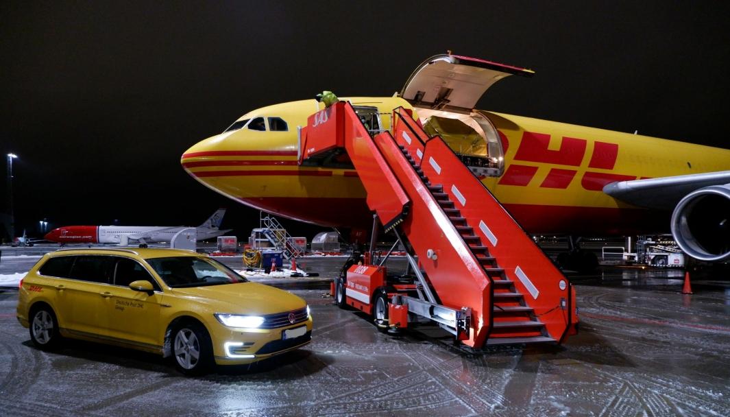 DHL Express står klar med sitt unike logistikknettverk.