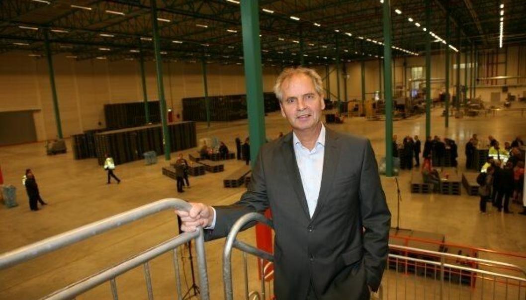 NLP-boss gjennom 14 år, Ragnar Strand, takker for seg fra årsskiftet. Foto: Per Dagfinn Wolden