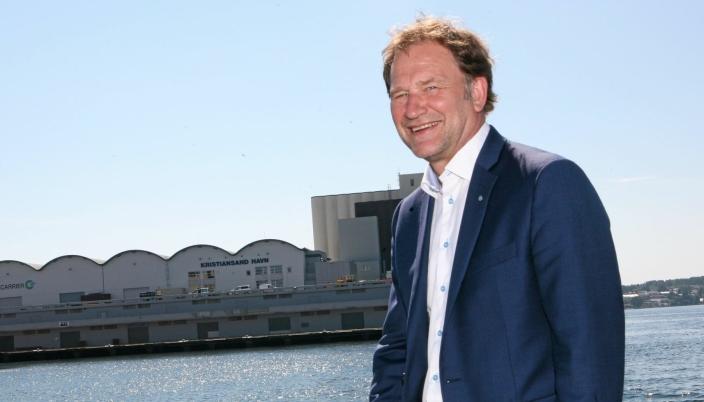 Havnedirektør i Kristiansand Halvard Aglen ansatt som leder av det nye interkommunale selskapet.