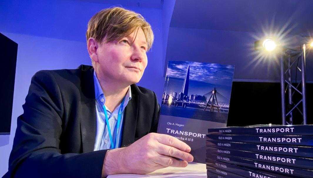 Ole Andreas Hagen har brukt mye tid under Covid-19-pandemien til å tenke gjennom transporthistorien som grunnlag for sin nye bok.