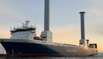 Norges største seilskip satt i drift