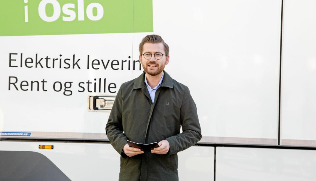 Transportnæringen får strengere miljøkrav fra Sveinung Rotevatn og resten av regjeringen i tiden som kommer.