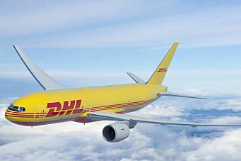 Fraktfly-satsing i DHL