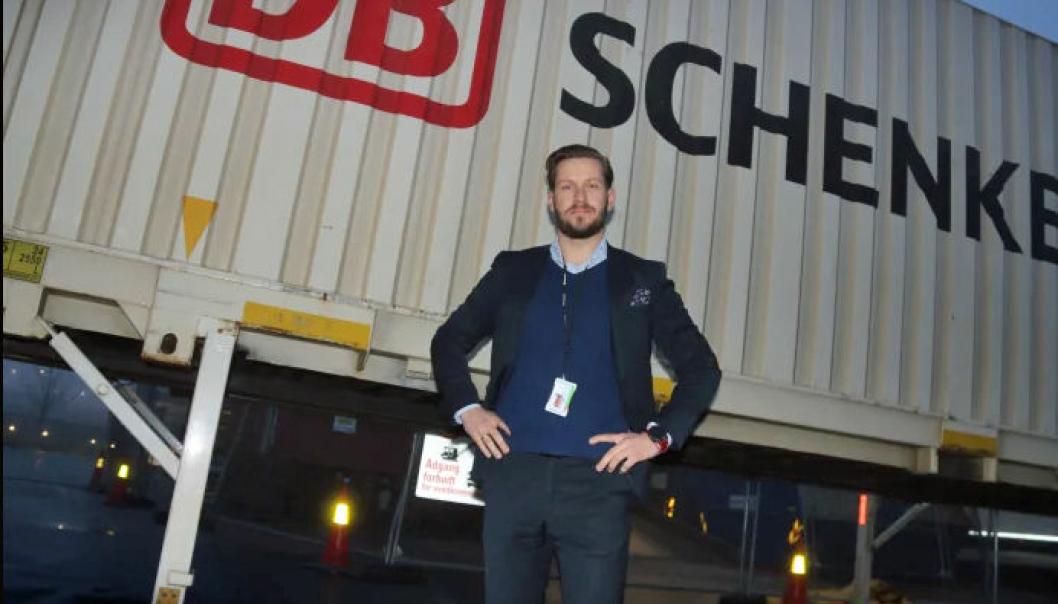 Sjøfrakt er hardt rammet om dagen, forteller Christian Flatum, direktør for sjøfrakt i Schenker Norge.