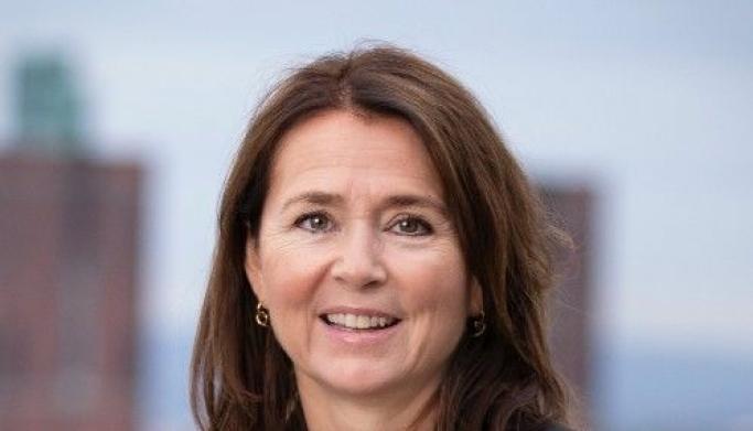 - Netthandelen har en voldsom vekst som følge av Covid-19, sier Cathrine Laksfoss, adm. direktør i Schibsted Distribusjon.