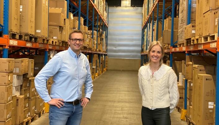 Commercial Director Nordics Martine Nilsen-Moe og Operations Manager Vegard Tvedt i BGL representerer nå en uavhengig global 3PL-leverandør som tilbyr komplekse logistikkløsninger.