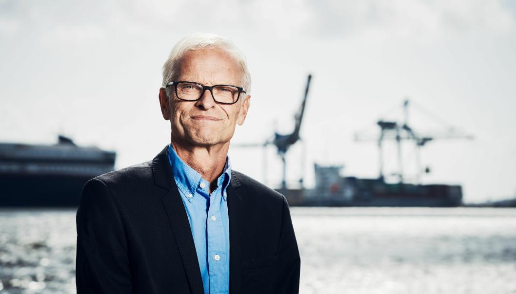 Havnedirektør i Larvik Jon Fredrik Jonas forteller om et spesielt år.