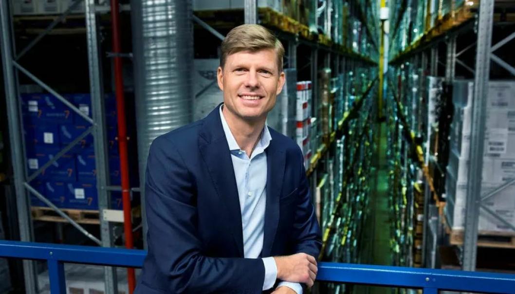 Per Öhagen, konserndirektør for e-handel og logistikk i Posten Norge, starter nå arbeidet med å bygge Norges største fullautomatiserte lagerløsning