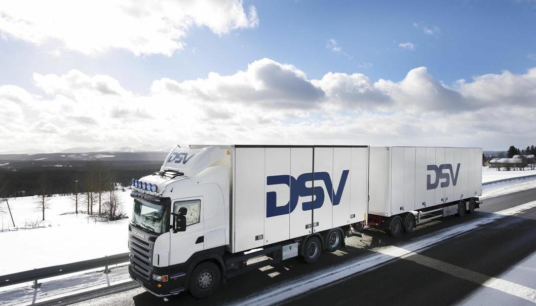 DSV Road tar seg av transporten for Hörmann Norge.