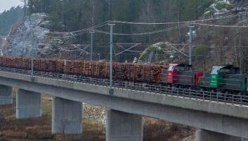 Søker om godstog til Larvik Havn