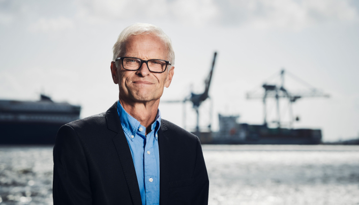 Havnedirektør Jan Fredrik Jonas i Larvik.