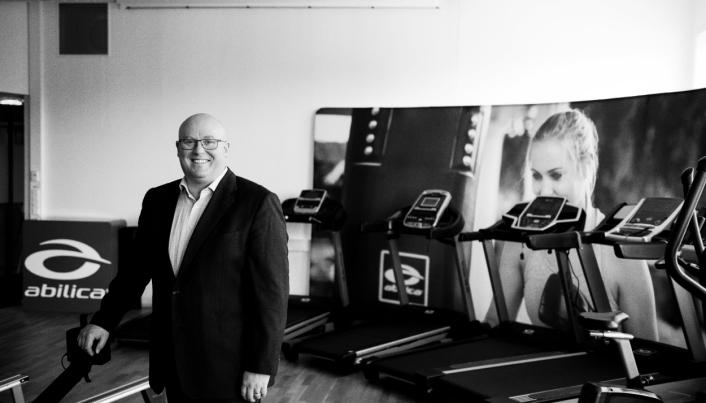 VANSKELIG MARKED: Thomas Wemans selskap Mylna Sport har opplevd solid vekst i 2020. Men veksten kunne vært større.