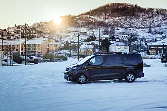 Tester selvkjørende varebil i Norge