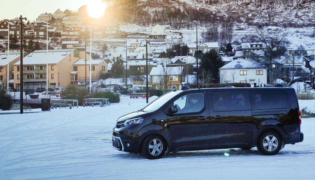 Sensible 4 hevder at deres autonomi-løsning takler snø og vanskelige kjøreforhold.